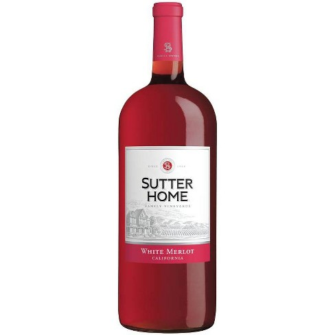 Sutter Home Winery White Merlot Wine - 1.5L Bottle - image 1 of 1