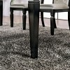 "84"" Emeline Expandable Dining Table Black - ioHOMES - image 3 of 4"