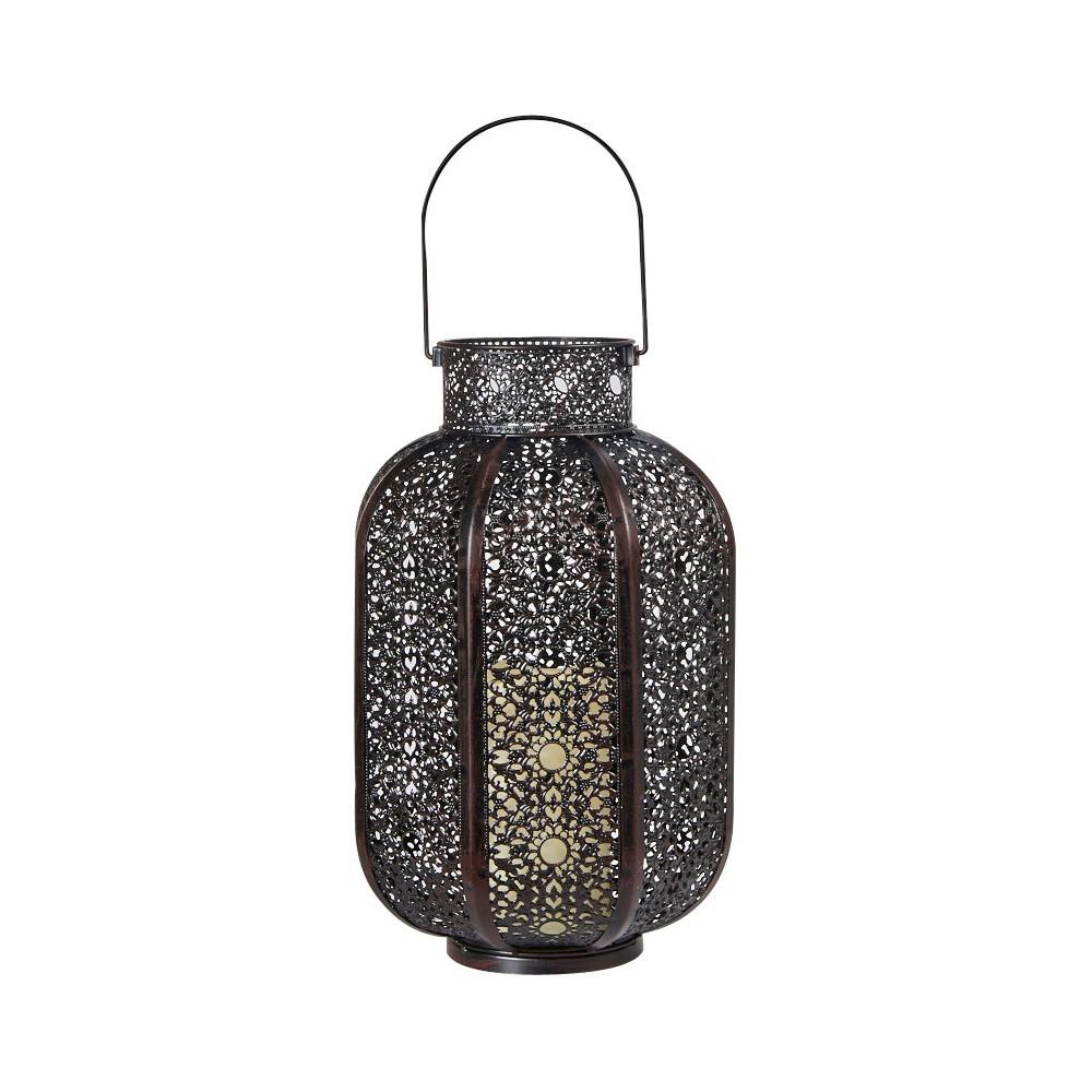 Smart Living Cadiz 17 H Led Candle Lantern - Black