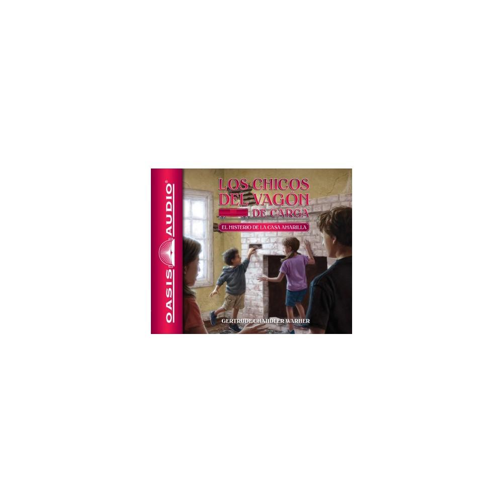 El misterio de la casa amarilla /The Mystery of the Yellow House - Unabridged (CD/Spoken Word)