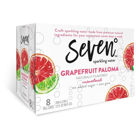 Project 7 La Paloma Sparkling Water - 8pk/12 fl oz Cans - image 1 of 1
