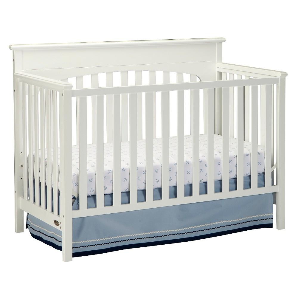 Graco Lauren 4-in-1 Convertible Crib - White