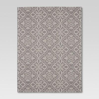 Mosaic Gray Outdoor Rug - 8'x10' - Threshold™