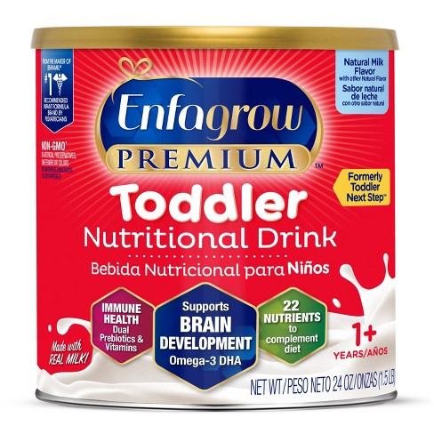 Enfagrow Premium Toddler Formula with Iron Powder, Natural Milk Flavor - 24oz - image 1 of 4