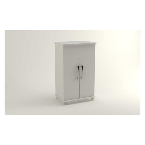 Catalonia 2.0 Mobile Shoe Closet White - Manhattan Comfort - image 1 of 3