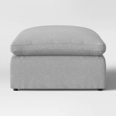 Allandale Modular Sectional Sofa Ottoman Gray - Project 62™