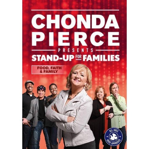 Chonda Pierce Presents: Stand Up for Families - Food, Faith & Family (DVD) - image 1 of 1