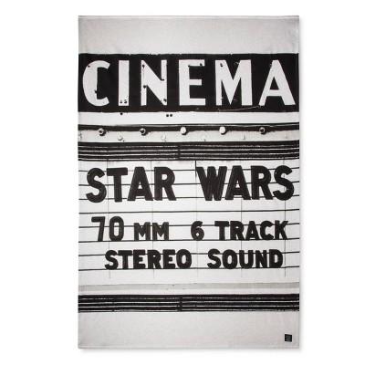 Star Wars® Cinema White Bed Blanket (Twin)