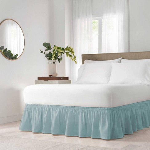 Wrap Around Solid Ruffled Bed Skirt - EasyFit™ - image 1 of 4