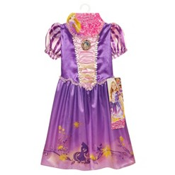 Disney Princess Explore Your World Rapunzel Dress, Size: Small, MultiColored