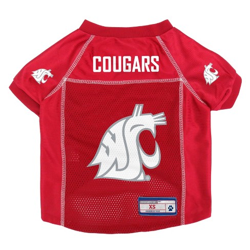 NCAA Little Earth Pet Football Jersey - Washington State Cougars - image 1 of 3