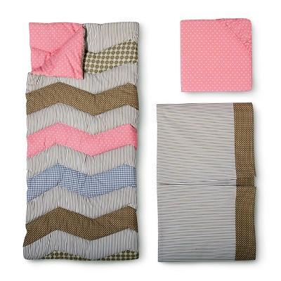 Trend Lab 3pc Crib Bedding Set – Cocoa Coral