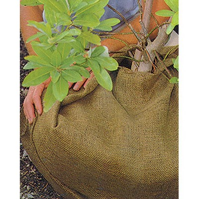 Dewitt NB3 3-Foot by 250-Foot Medium Weave Natural Burlap Cloth for Soil Erosion Control, Plant Protection and Slope Control