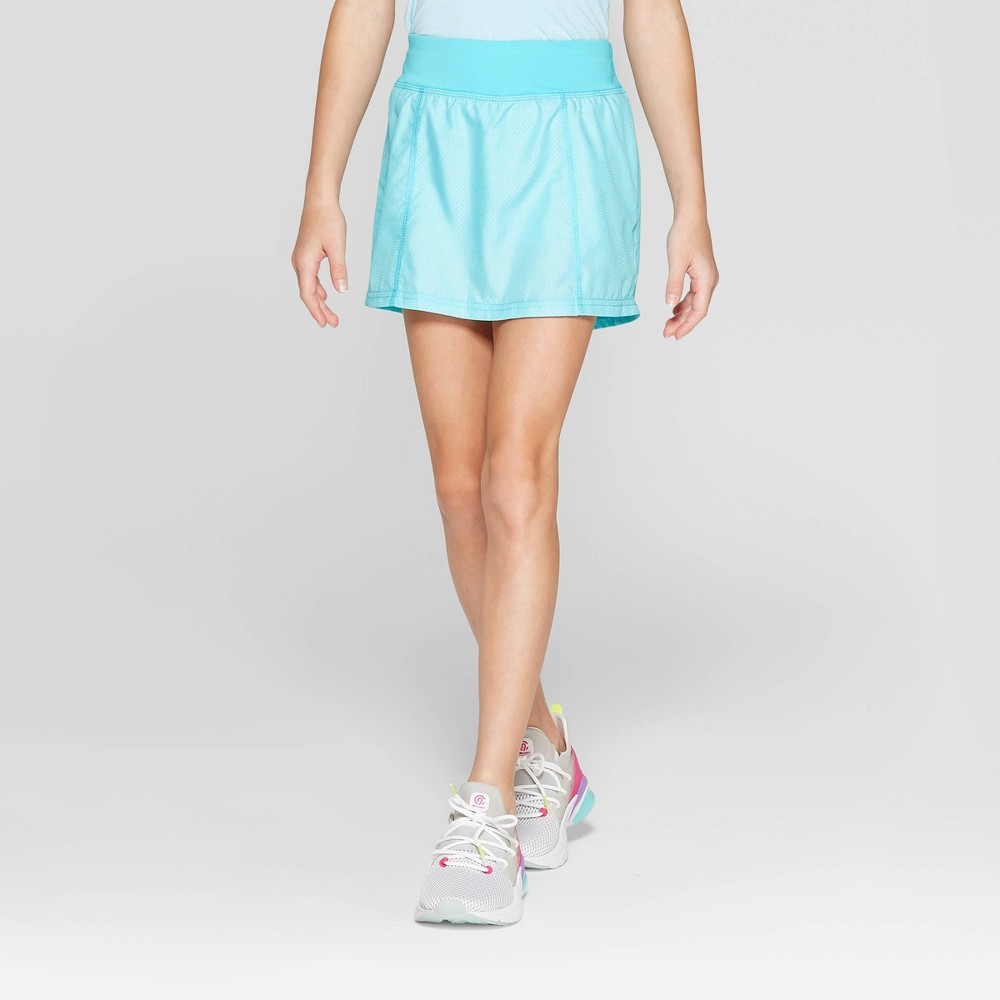 Image of Girls' Woven Skort - C9 Champion Light Blue XL, Girl's