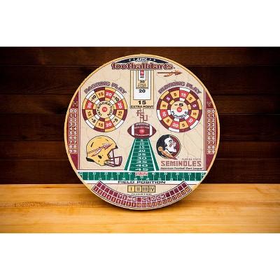 NCAA Florida State Seminoles Official Football Dartboard