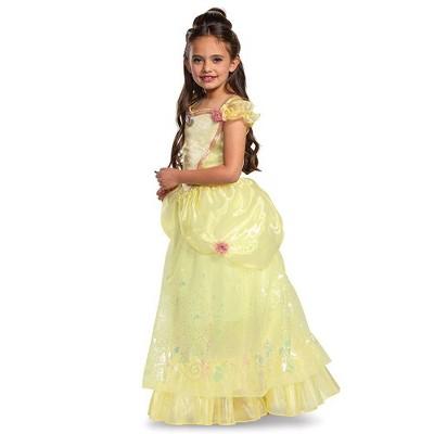 Toddler Deluxe Disney Princess Belle Halloween Costume Dress