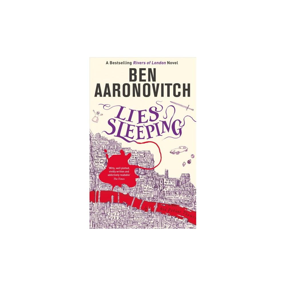 Lies Sleeping - (Rivers of London) by Ben Aaronovitch (Hardcover)