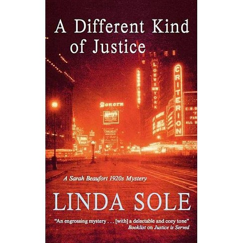 A Different Kind of Justice - (Severn House Large Print) by  Linda Sole (Hardcover) - image 1 of 1