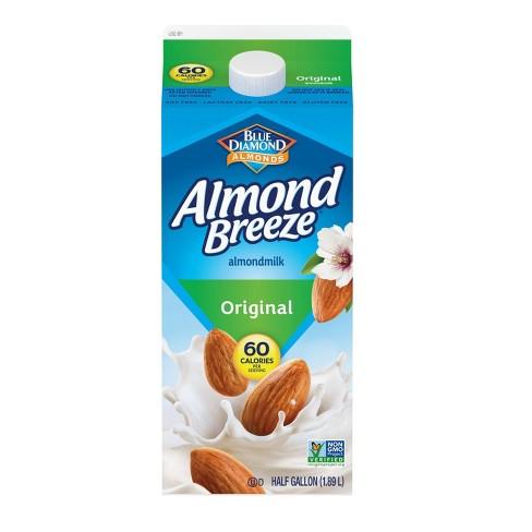 Blue Diamond Almond Breeze Original Almond Milk - 0.5gal - image 1 of 1