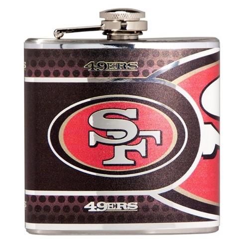 6af16bf8 NFL San Francisco 49ers Metallic Flask