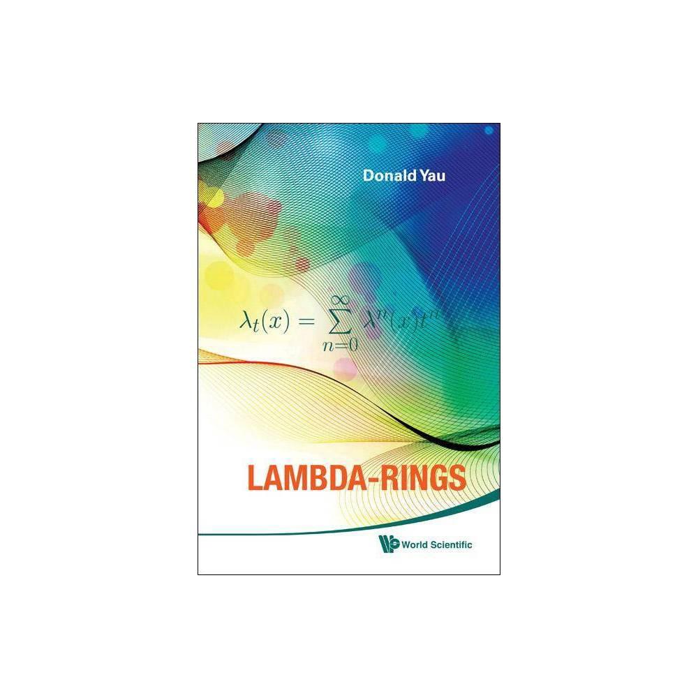 Lambda Rings By Donald Yau Hardcover