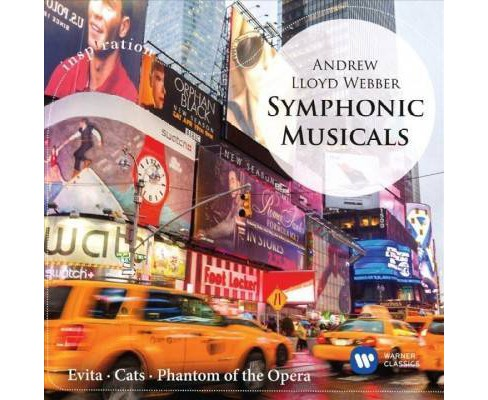 Ettore Stratta - Symphonic Musicals Lloyd Webber (CD) - image 1 of 1