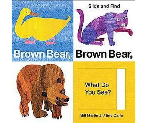 Brown Bear, Brown Bear, What Do You See? Slide & Find by Bill Martin Jr. and Eric Carle (Board Book) by Bill Martin Jr. - image 1 of 2