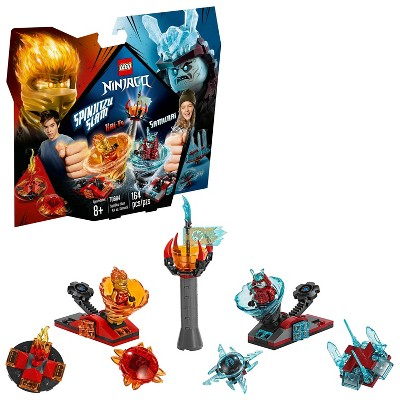 LEGO Ninjago Spinjitzu Slam - Kai vs. Samurai Building Set with Toy Spinner 70684