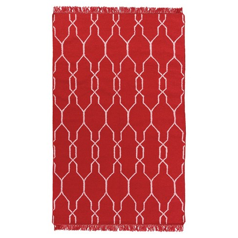Surya Patio Rug - Cherry (2'X3') - image 1 of 2