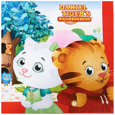Birthday Express Daniel Tiger'S Neighborhood Party Supplies Lunch Napkins