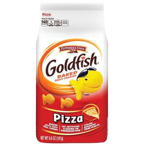 Pepperidge Farm® Goldfish® Pizza Crackers, 6.6oz Bag - image 1 of 6