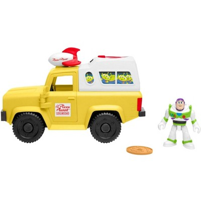 Fisher-Price Imaginext Disney Pixar Toy Story 4 Buzz Lightyear And Pizza Planet Truck