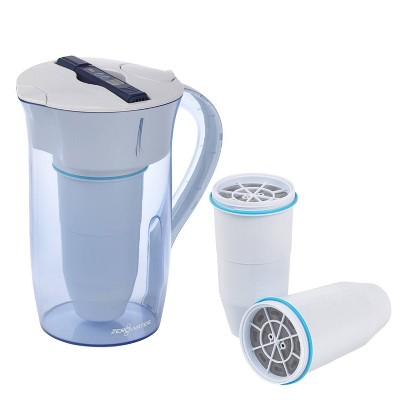 ZeroWater 10-Cup Ready Pour Water Purification Pitcher Bundle