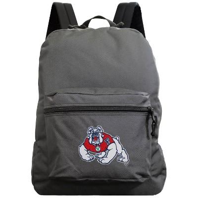 NCAA Fresno State Bulldogs Gray Premium Backpack