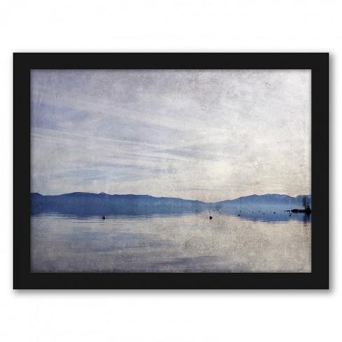 Americanflat High Sierra Vi By Hope Bainbridge Black Frame Wall Art Target