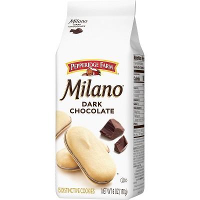 Pepperidge Farm Milano Dark Chocolate Cookies - 6oz