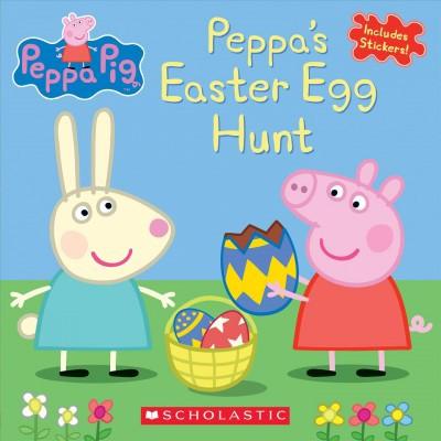 Peppa's Easter Egg Hunt (Peppa Pig) - by Eone (Paperback)