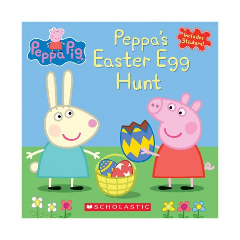 Peppa's Easter Egg Hunt (Peppa Pig) - by Eone (Paperback) - image 1 of 1