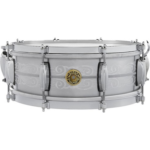 Gretsch Drums 135th Anniversary Solid Aluminum Snare Drum 14 x 5 in. Aluminum - image 1 of 2