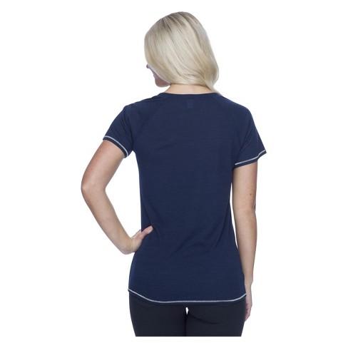 018dd08f46e NBA Minnesota Timberwolves Women s Phys Ed Scoop Neck Slub T-Shirt   Target