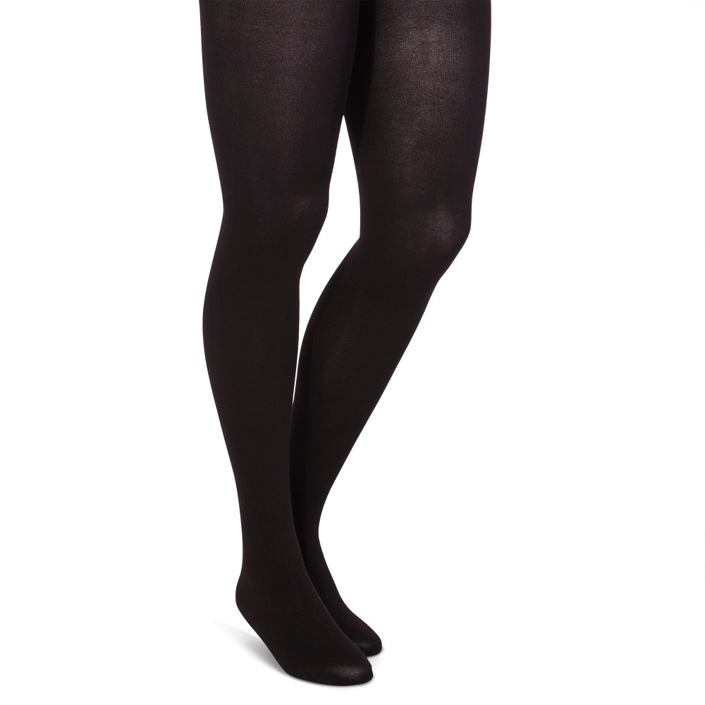 Maternity Opaque Tights - Isabel Maternity by Ingrid & Isabel Black L/XL, Women's