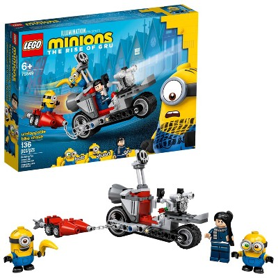 LEGO Minions Unstoppable Bike Chase Building Kit 75549