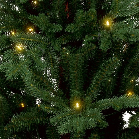4ft prelit artificial christmas tree potted balsam fir slim warm white led lights wondershop target