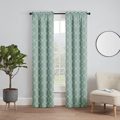 Set of 2 Vickery Light Filtering Curtain Panels - Pairs To Go