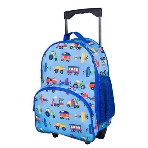Trains, Planes & Trucks Rolling Luggage - image 1 of 4