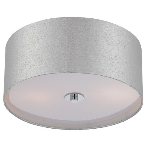 Silvain flush mount wall lights chrome lite source target about this item aloadofball Gallery