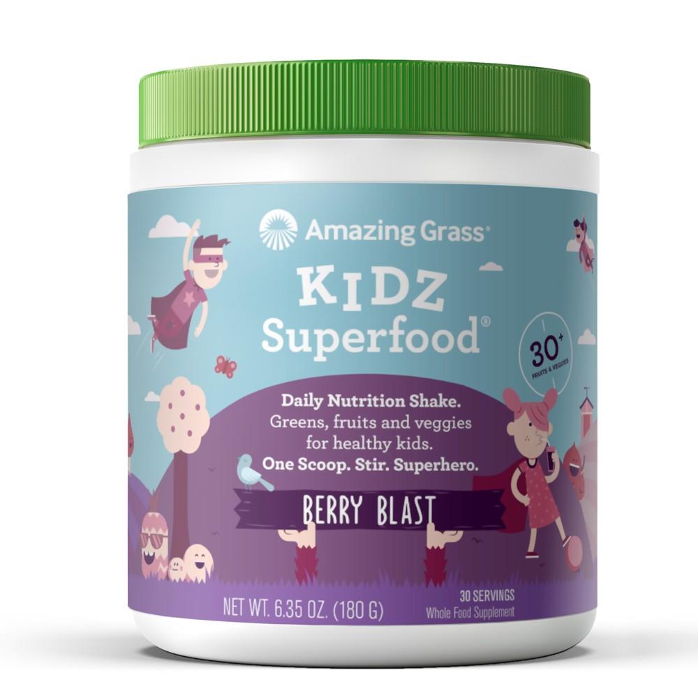 + Kidz Superfood Powder - Berry - 6.35oz