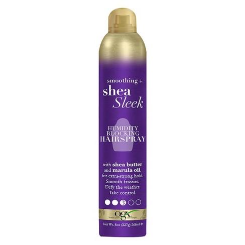 OGX Smoothing + Shea Sleek Humidity Blocking Hairspray - 8oz - image 1 of 2