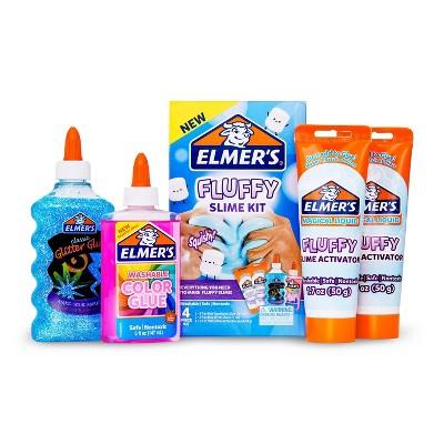 Elmer's 4pc Fluffy Slime Kit