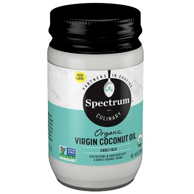 Coconut Oil: Spectrum Culinary Organic Virgin Coconut Oil